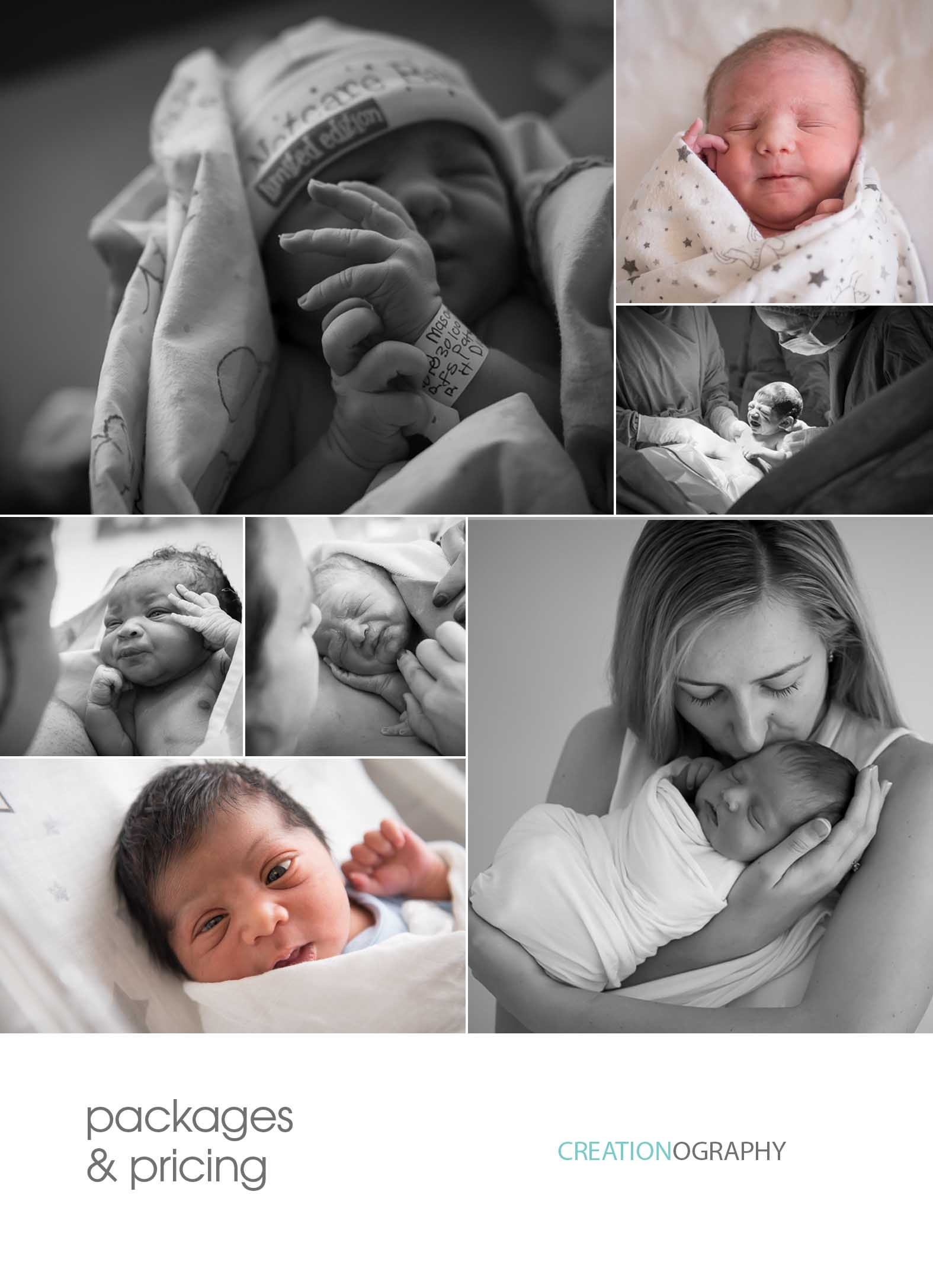 Birth photography Johannesburg Pretoria pricing cost