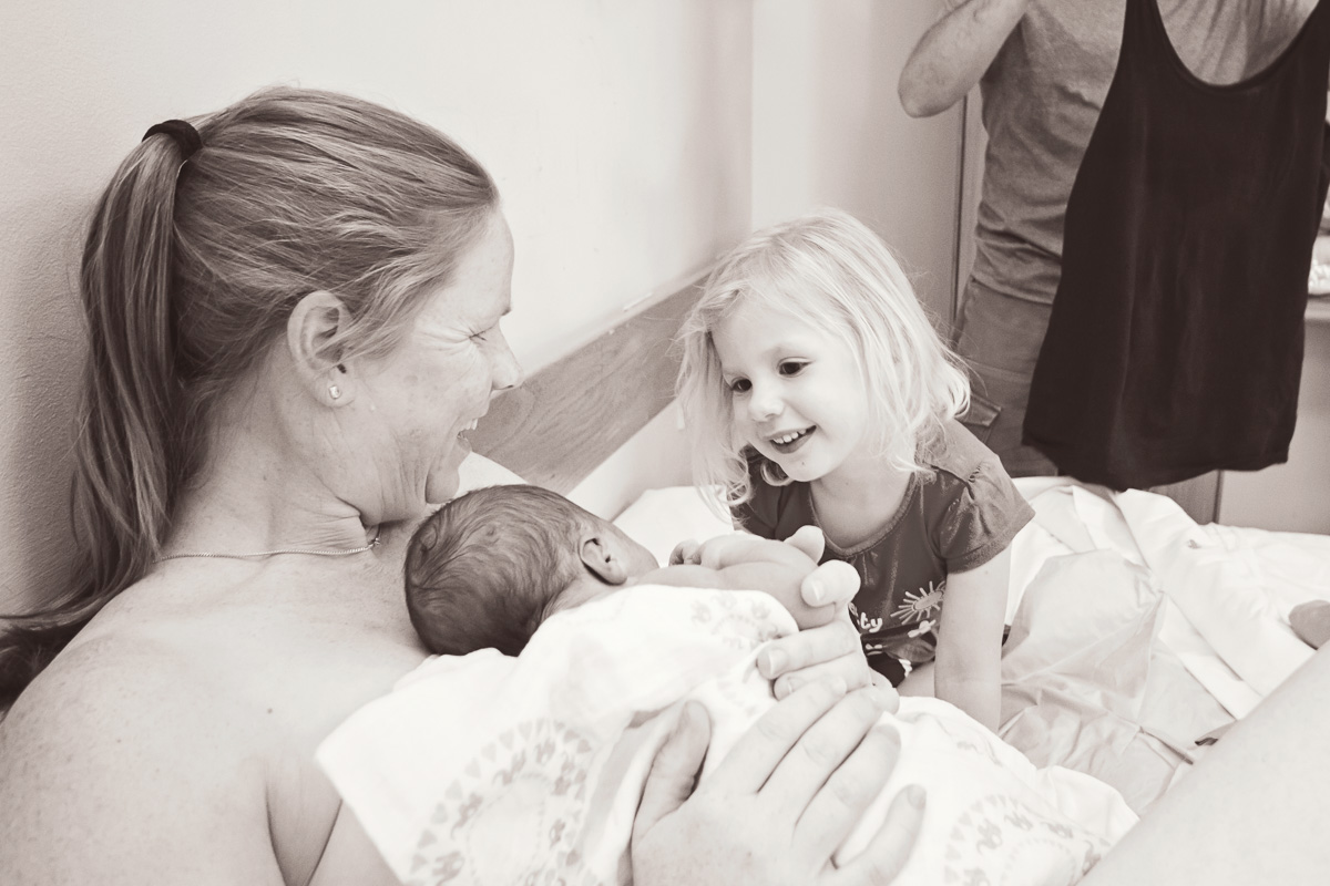 Kate Emily Birth BW - 337