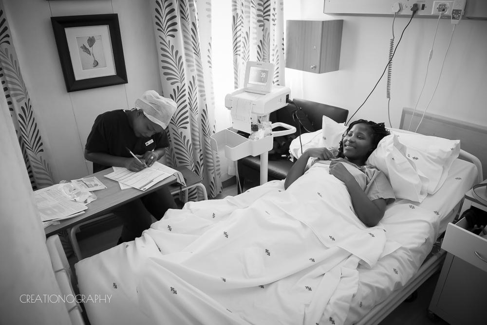 Birth photography caesarean section johannesburg gauteng